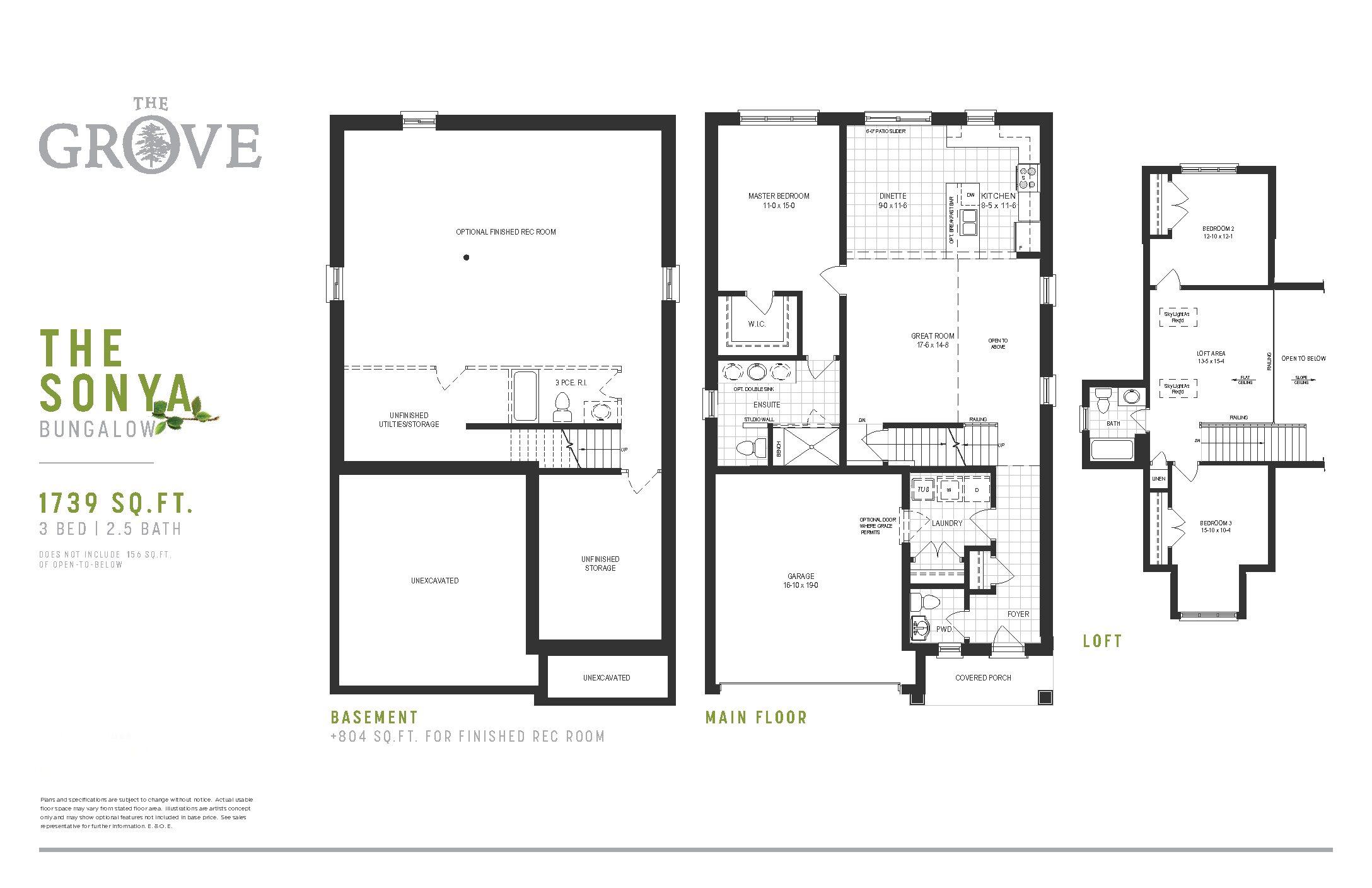 The Grove Floorplan Sonya
